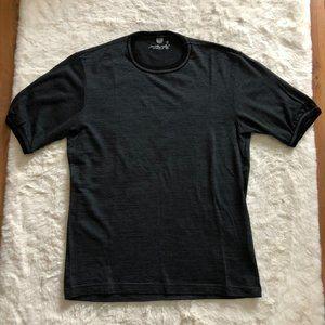 Smartwool men's 100% merino wool micro stripes t-shirt size small
